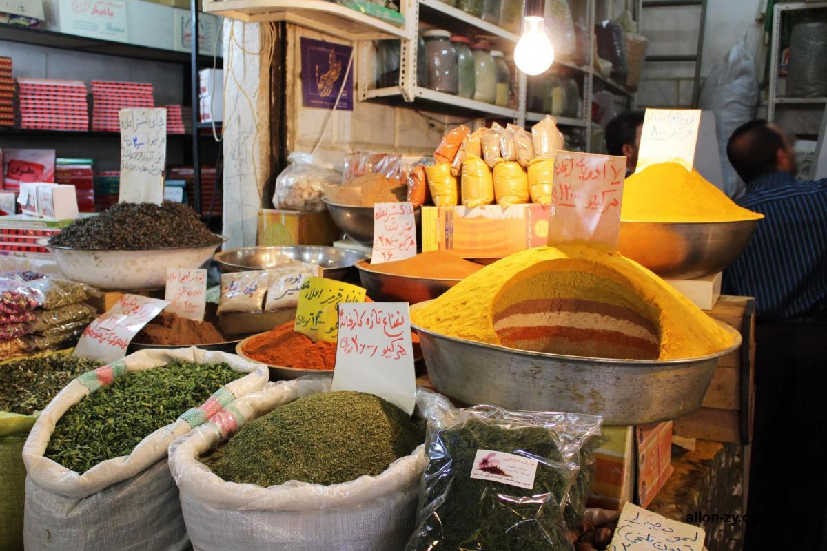Bazar ispahan 1