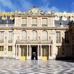 La cour du Château de Versailles