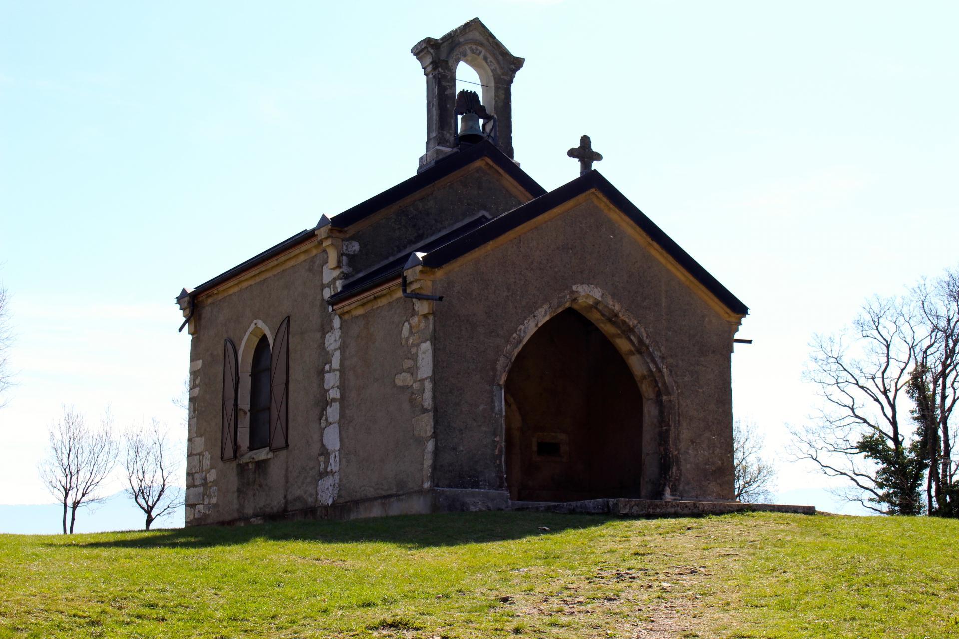 la chapelle du Mont du Chat