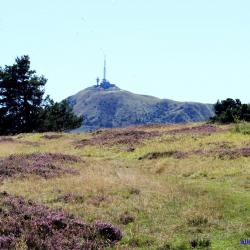 Le Puy de Dôme vu du Puy Pariou